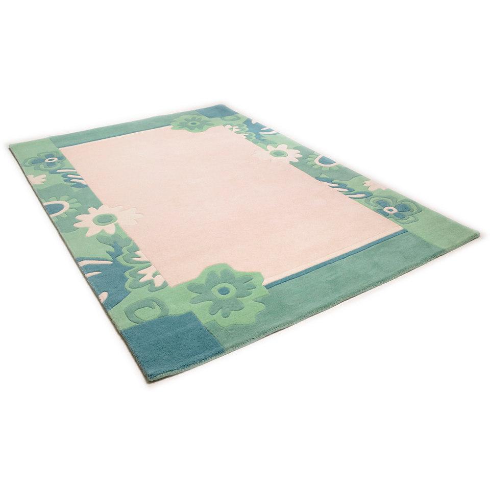 Teppich, Theko, �Hawai 6836�, handgearbeitet, Wolle