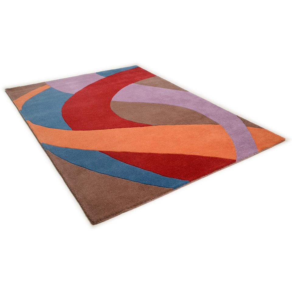 Teppich, Theko, �Hawai 6838�, handgearbeitet, Wolle