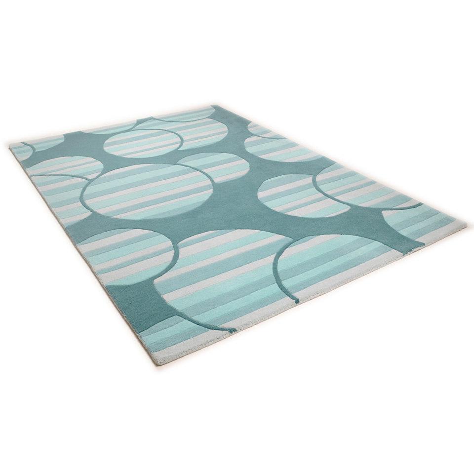 Teppich, Theko, �Hawai 6840�, handgearbeitet, Wolle