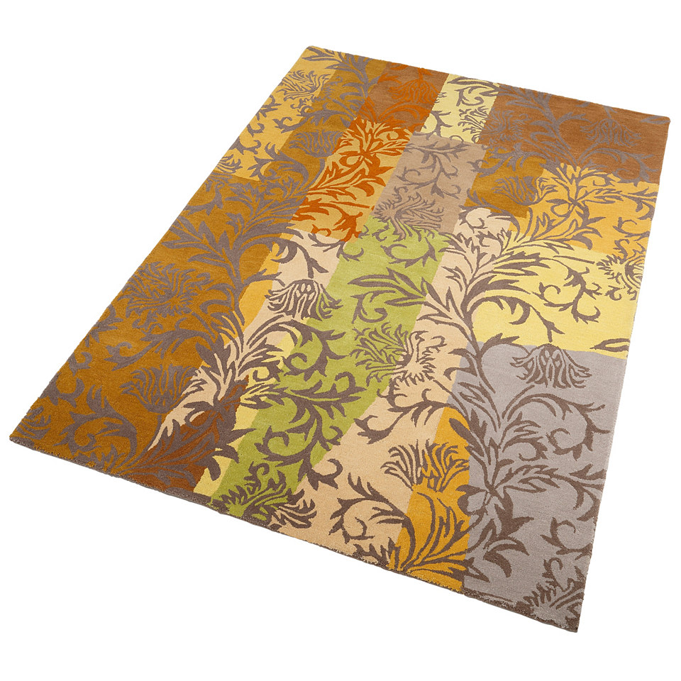 Teppich, Theko, »Jasmine«, handgetuftet, reine Schurwolle