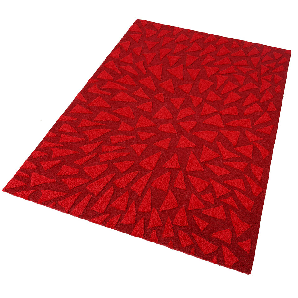 Teppich, Theko, �Jenny�, handgearbeitet, Wolle, 4,2 kg/m�