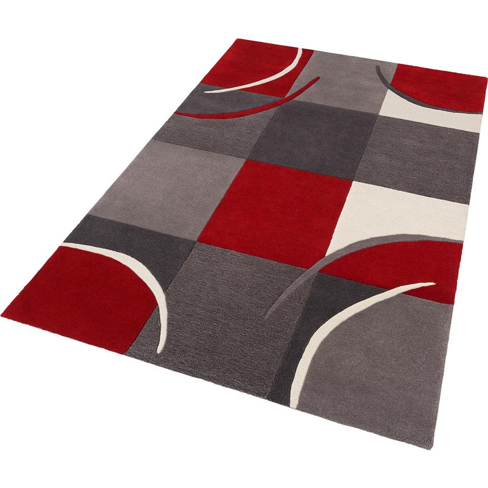 Teppich, Theko, �Magnus�, handgetuftet, Wolle 3,5 kg/m�