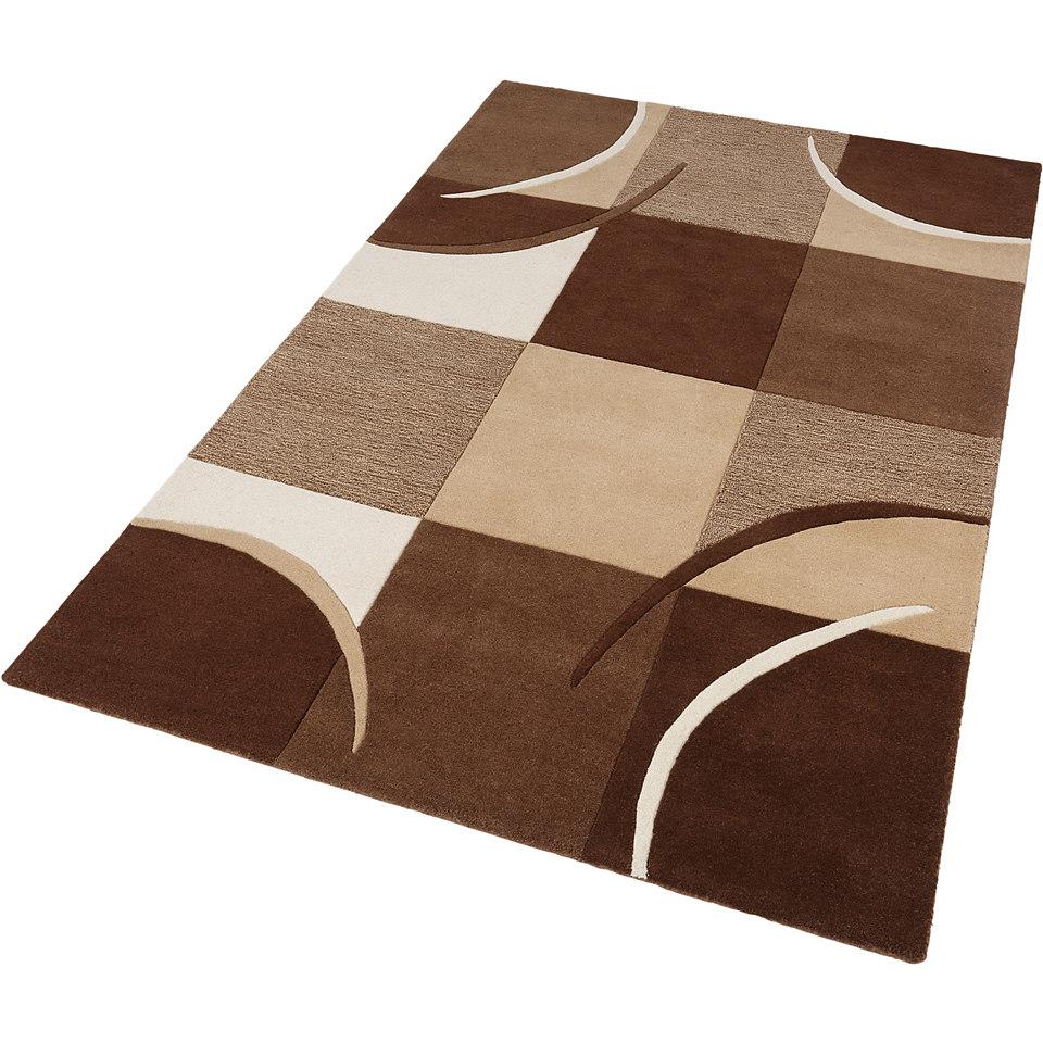 Teppich, Theko, »Magnus«, handgetuftet, Wolle 3,5 kg/m²