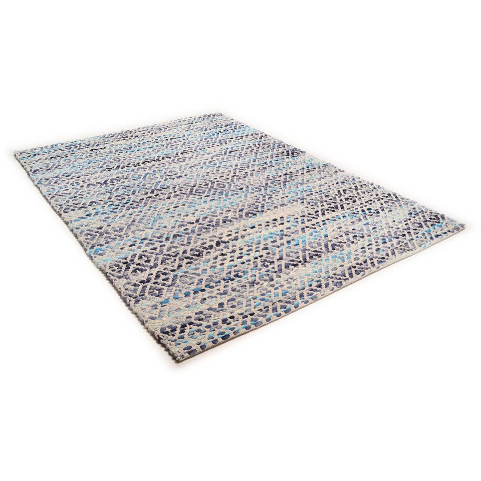 Teppich, Theko, �Modern Wave 2�, handgewebt, reine Schurwolle