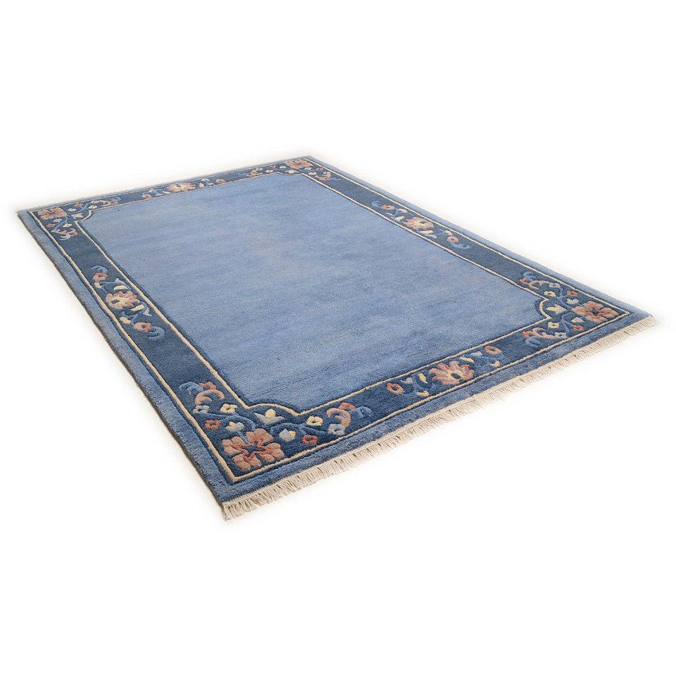 Teppich, Theko, »Sumatra Floral«, handgeknüpft, Wolle