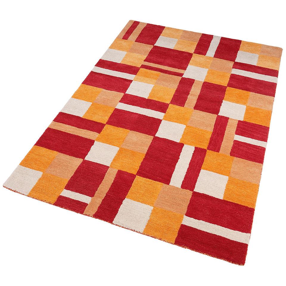 Teppich, Theko, �Tristan�, handgearbeitet, Wolle, 3,8 kg/m�