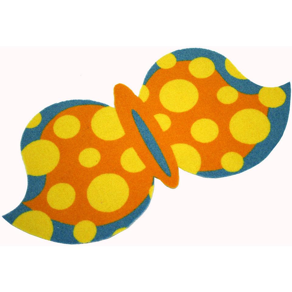 Teppich, Zala Living, »Schmetterling Butterfly Punkte«, getuftet
