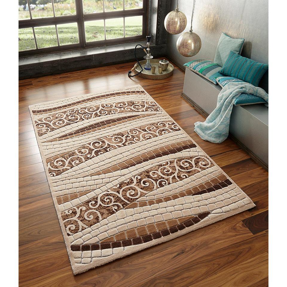 Teppich, my home, »Boyut« , gewebt mit Glanzeffektgarn , 3,3 kg/m²