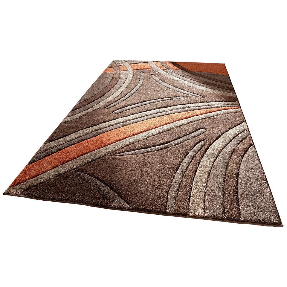 Teppich, my home, �David�, handgearbeiteter Konturenschnitt, gewebt