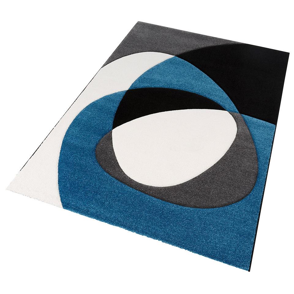 Teppich, my home, �Diego�, handgearbeiteter Konturenschnitt, gewebt
