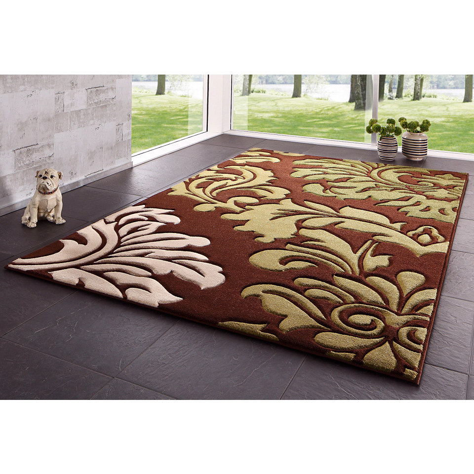 Teppich, my home, »Jolina«, handgearbeiteter Konturenschnitt