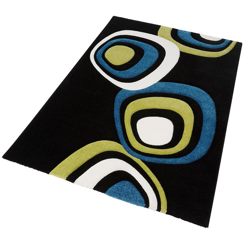 Teppich, my home, »Malte«, handgearbeiteter Konturenschnitt, gewebt