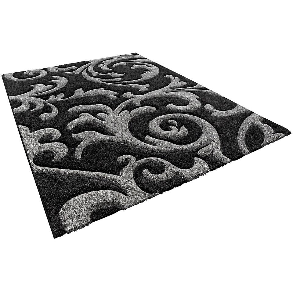 Teppich, my home, »Ragusa«, handgearbeiteter Konturenschnitt, gewebt