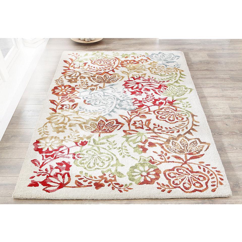 Teppich, my home, »Sofie«, handgearbeitet, Wolle, 3,7 kg/m²