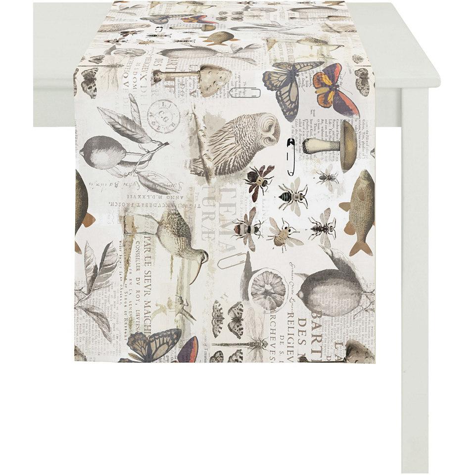 Tischl�ufer, Apelt, �3037�, Baumwolldruck