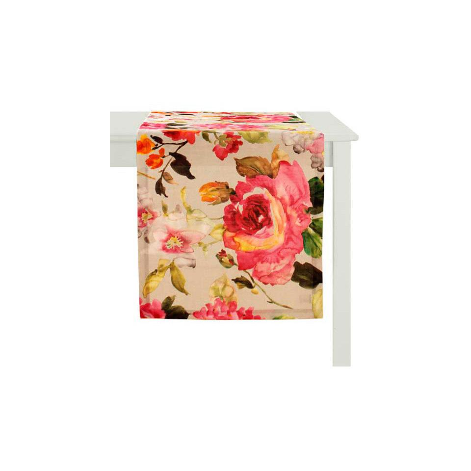 Tischläufer, Apelt, »Blütendruck«
