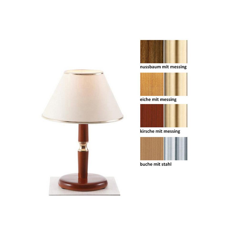 Tischlampe (1-flg.), in 4 Farben, Laue
