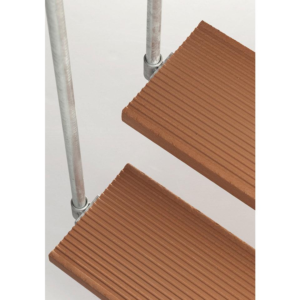 Trimax-Stufe für Außentreppe Gardentop, 100 cm, braun