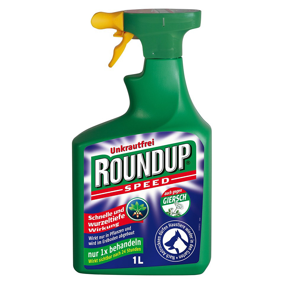 Unkrautvernichter �Roundup-Speed-Unkrautfrei�