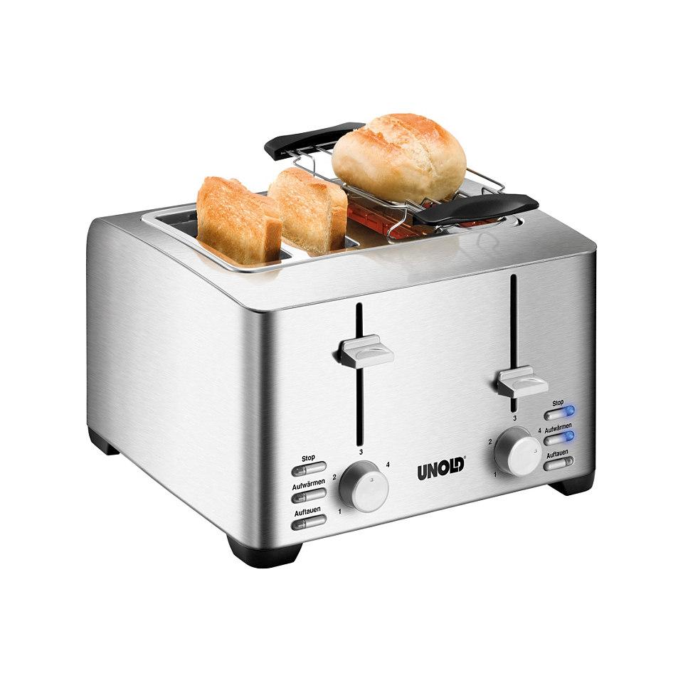 Unold 4- Scheiben Toaster ´´Edel 4´´