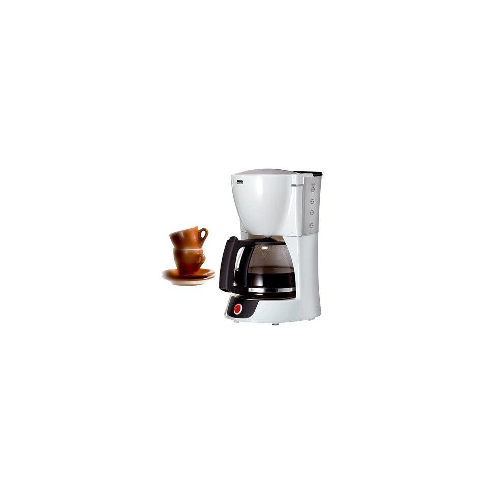Unold Kaffeemaschine ��White Line��, Glaskanne
