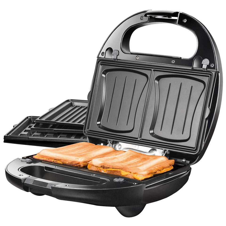 Unold Sandwich-Toaster �3 in 1 Onyx 48356�