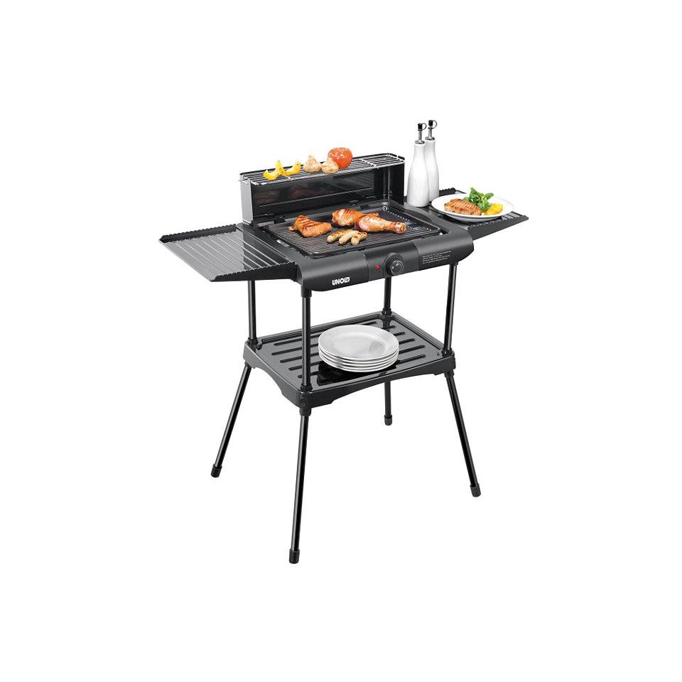 Unold Tischgrill / Standgrill / Barbecue-Grill »Vario 58565«, 1600 Watt