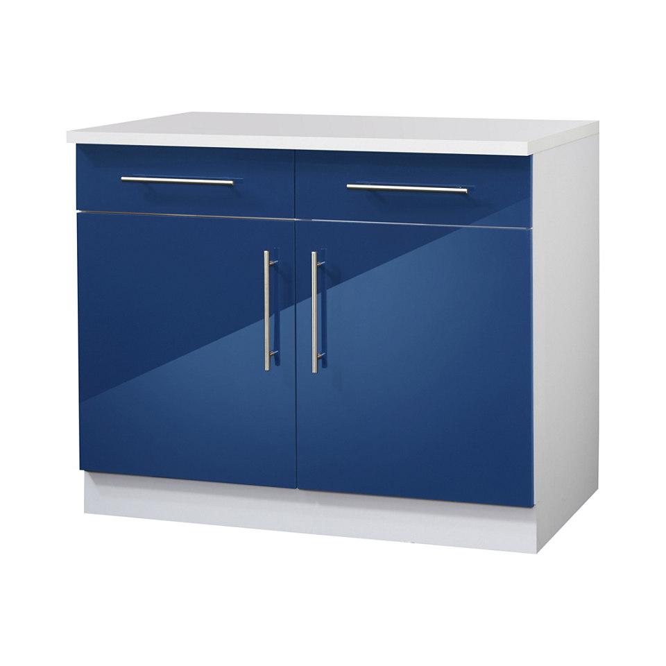Unterschrank »Valencia«, 2-türig, 100/50/85 cm