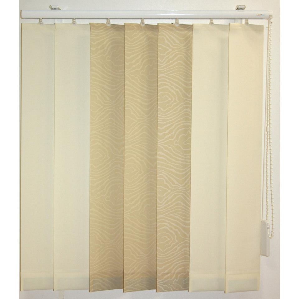 Vertikal - Lamellen Vorhang, Sunlines, »Montrey«, Wunschmaß