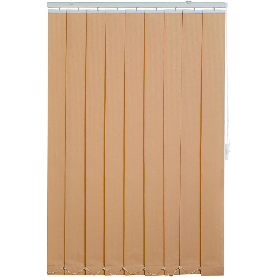 Vertikal Lamellen Vorhang, Sunlines, im Fixmaß, Lichtschutz