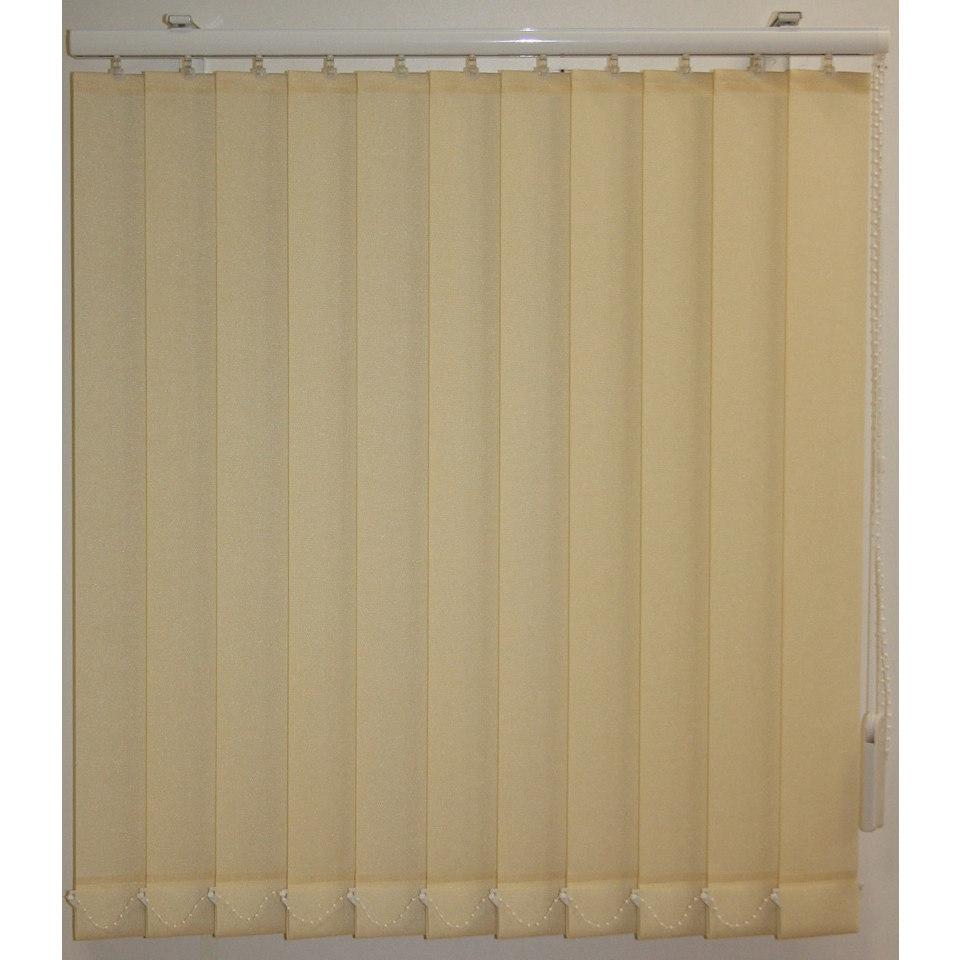Vertikal Lamellenvorhänge, Sunlines, »Aenne«, mit 89 mm Lamellen, im Wunschmaß
