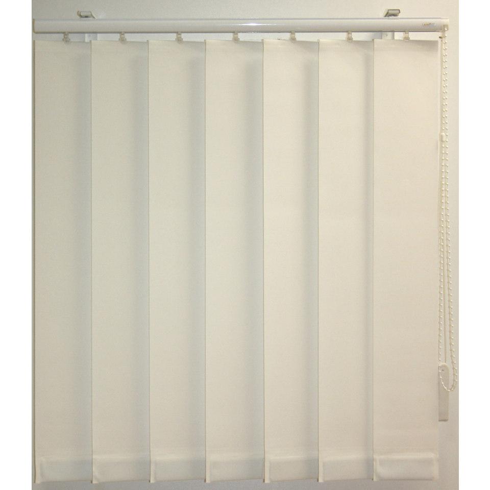 Vertikal - Lamellenvorhang mit eingeschwei�ten Beschwerungsplatten, Sunlines