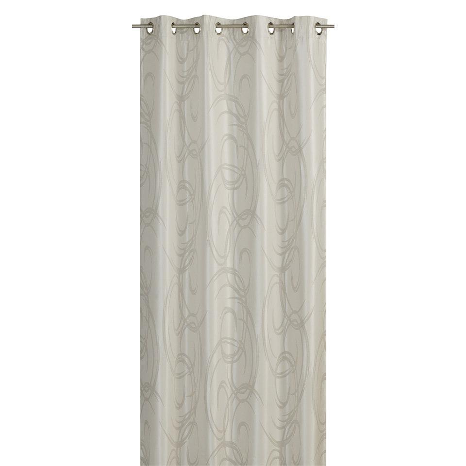 Vorhang , Elbersdrucke, »Soho Club Style« (1 Stück)