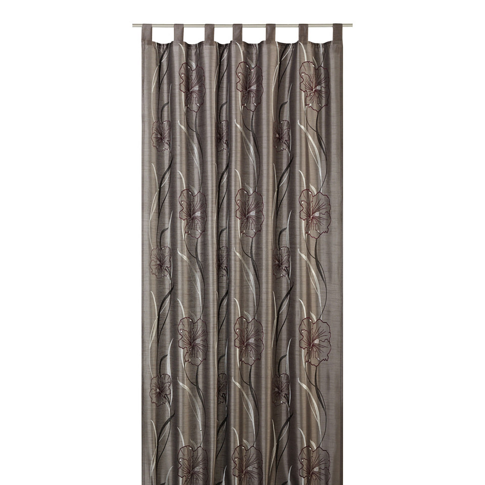 Vorhang, Elbersdrucke, �Hibiscus Deko� (1 St�ck)