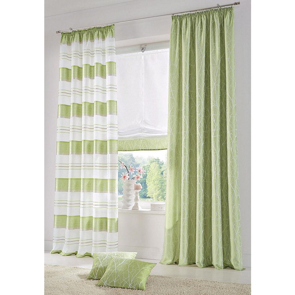 Vorhang, Home Wohnideen, »CAMPOS« (2 Stück)