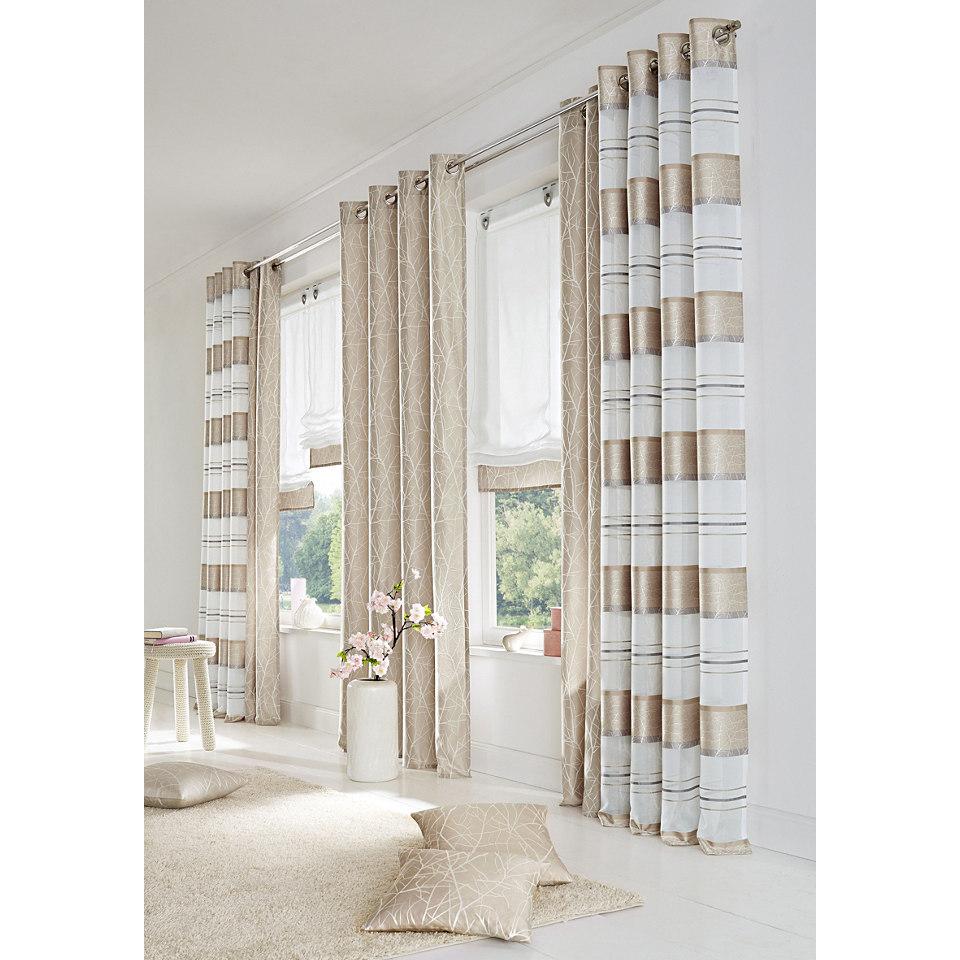 Vorhang, Home Wohnideen, �CAMPOS� (2 St�ck)