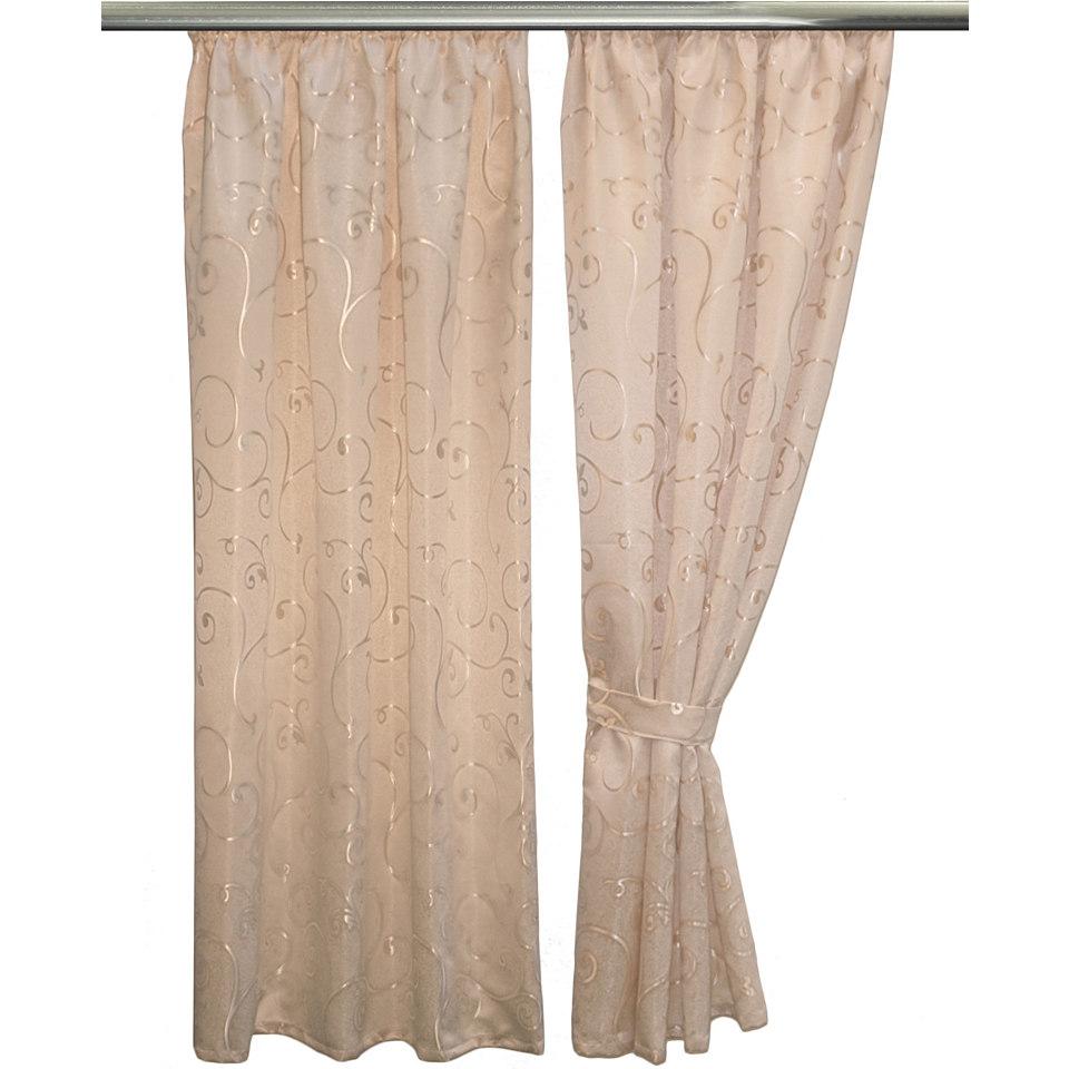 Vorhang, Vhg, »Claudine« (2 Stück)