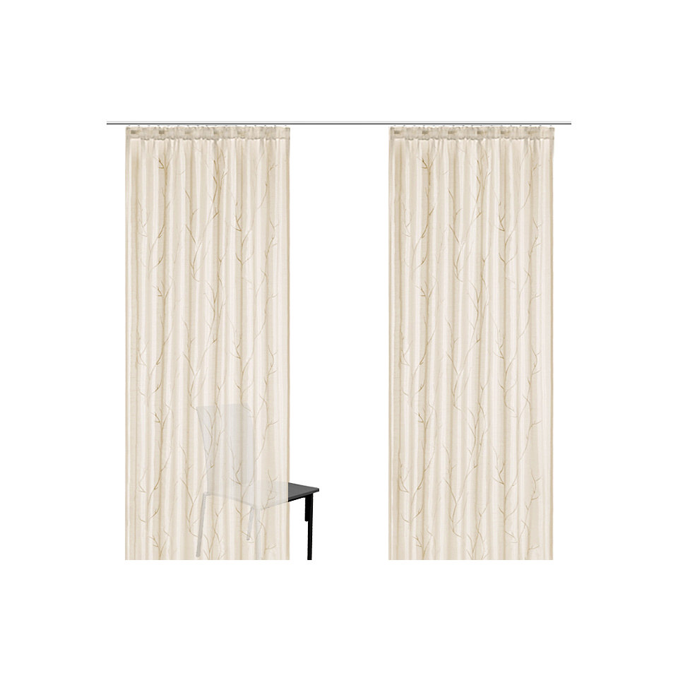 Vorhang, my home, �Carlow� (2 St�ck)