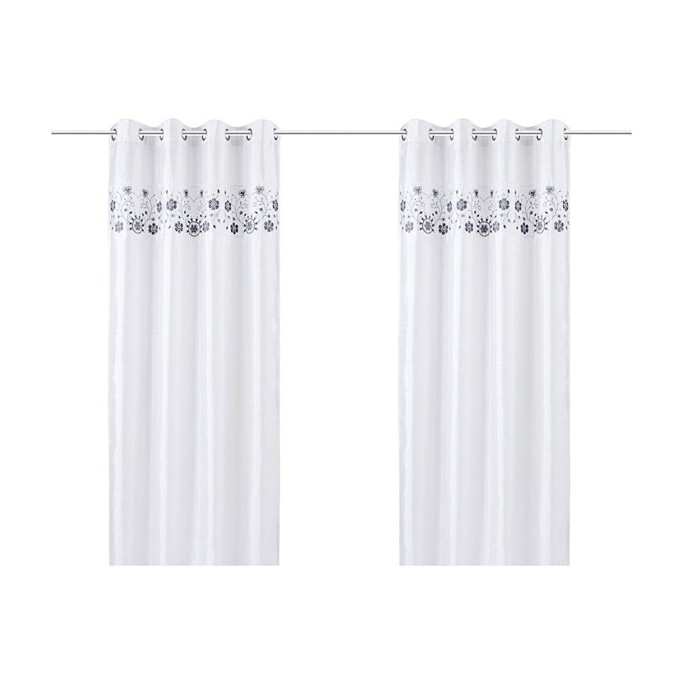 Vorhang, my home, »Chamonix« (2 Stück)