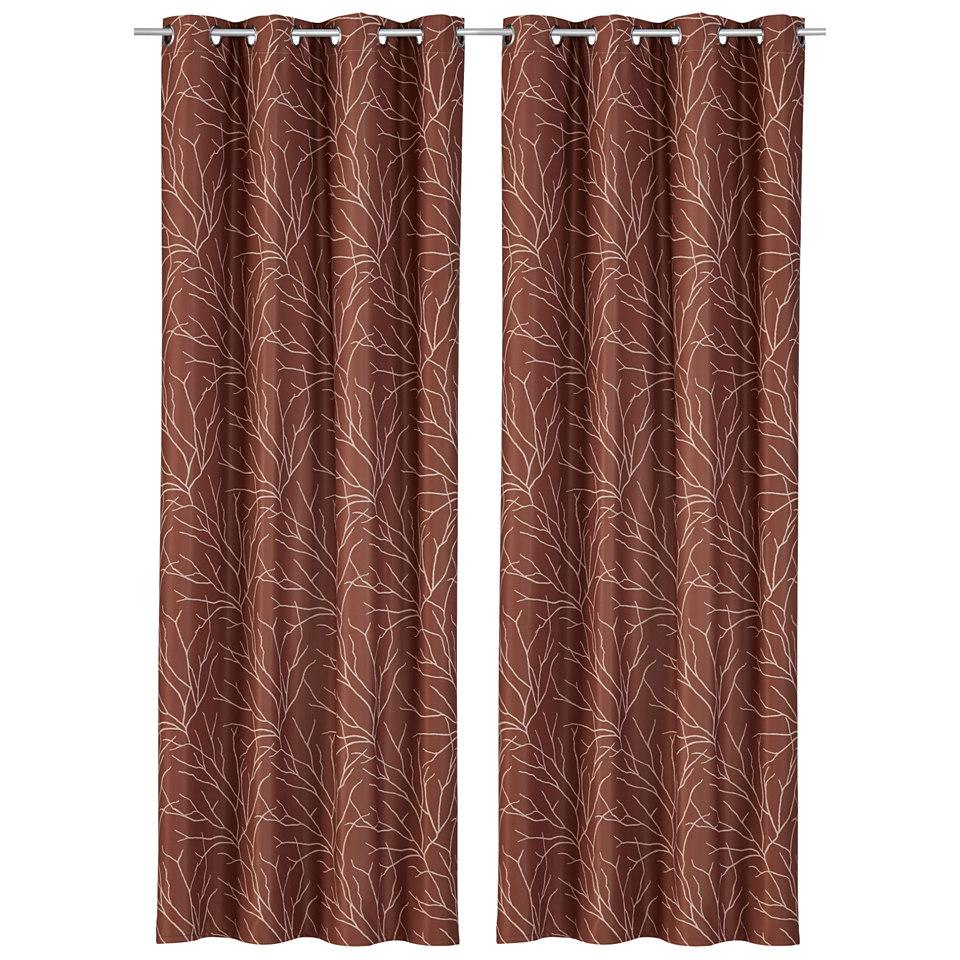 Vorhang, my home, »Kilarney« (2 Stück)