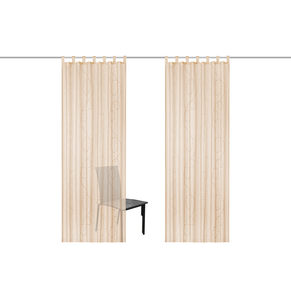 Vorhang, my home, »Pirot« (2 Stück)