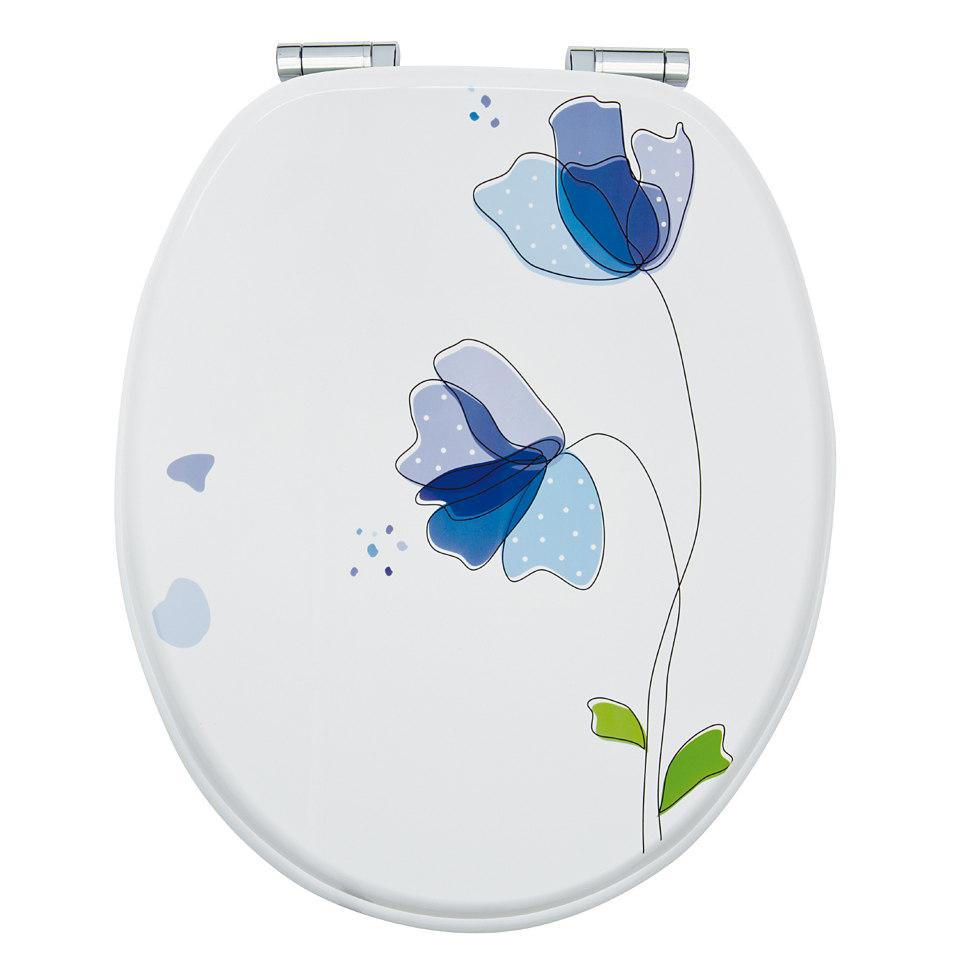 WC-Sitz »Flora blau«