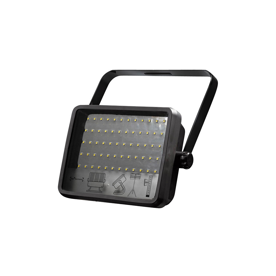 Wand- und Stativstrahler 30 W mit 60 LEDs