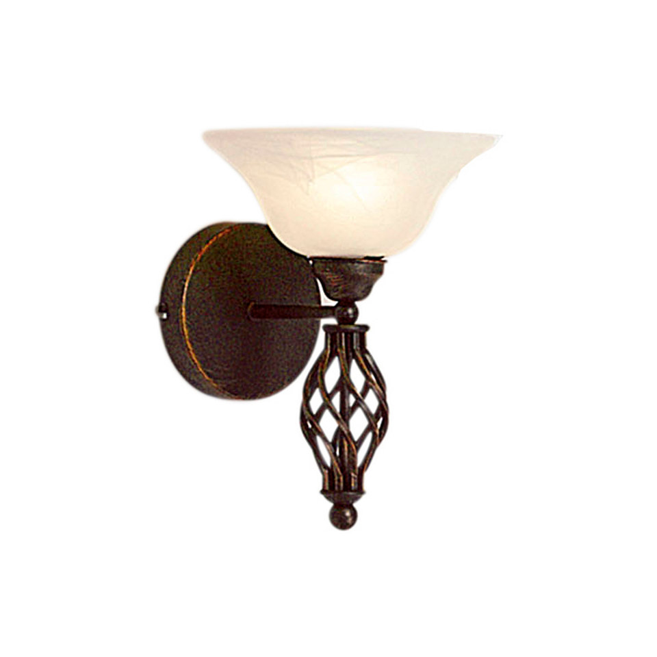 Wandlampe, 1-flg.