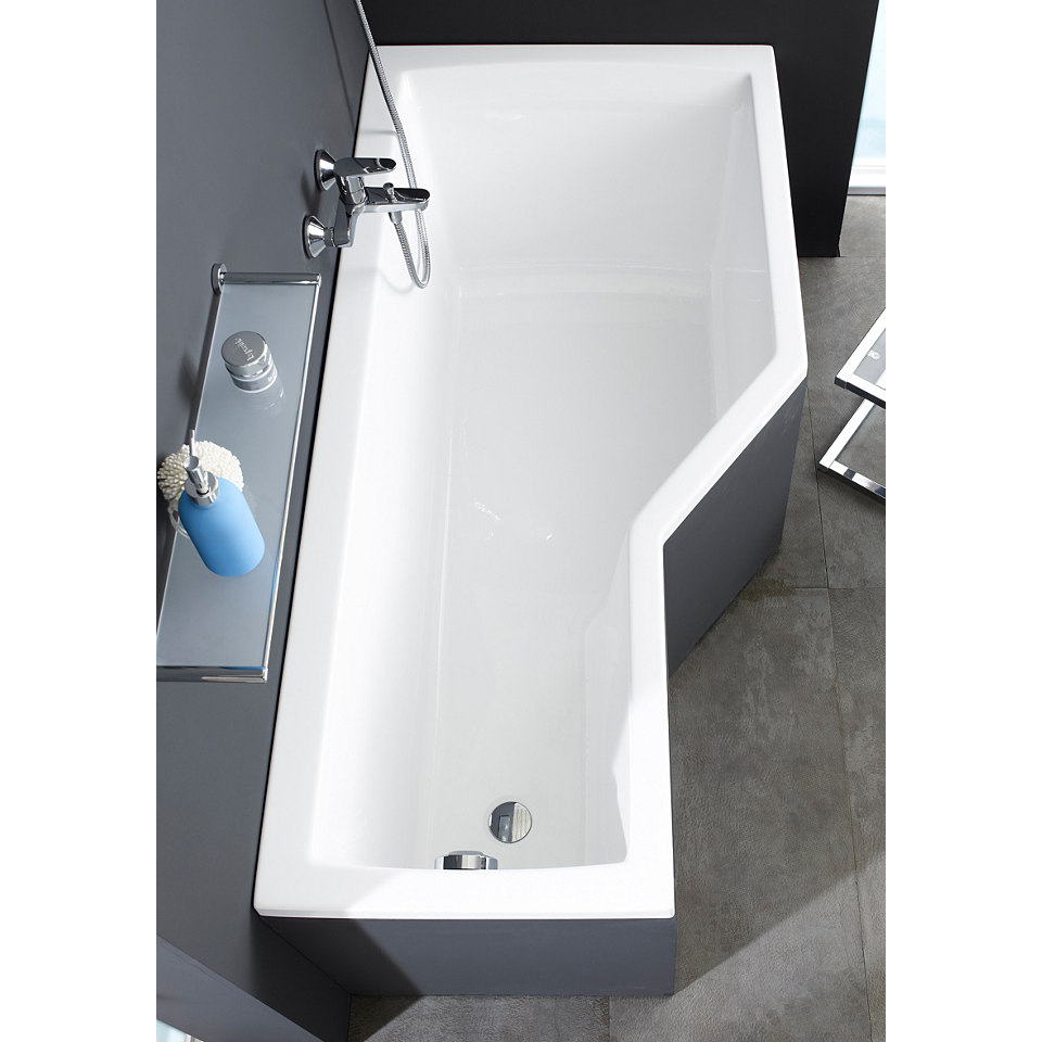 Wannen-Duschkombination �Cello� mit Wannentr�ger und Badewannenaufsatz