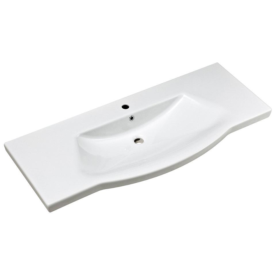 Waschbecken passend zur Badmöbelserie »Solitaire«, 115cm breit