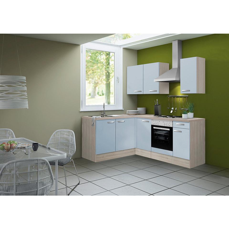 Winkel-Küchenleerzeile Skagen, 165 x 210 cm