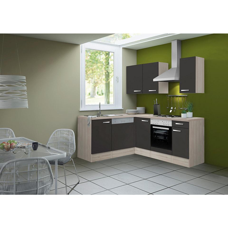Winkel-Küchenleerzeile Skagen, für Geschirrspüler geeignet - 175 x 210 cm