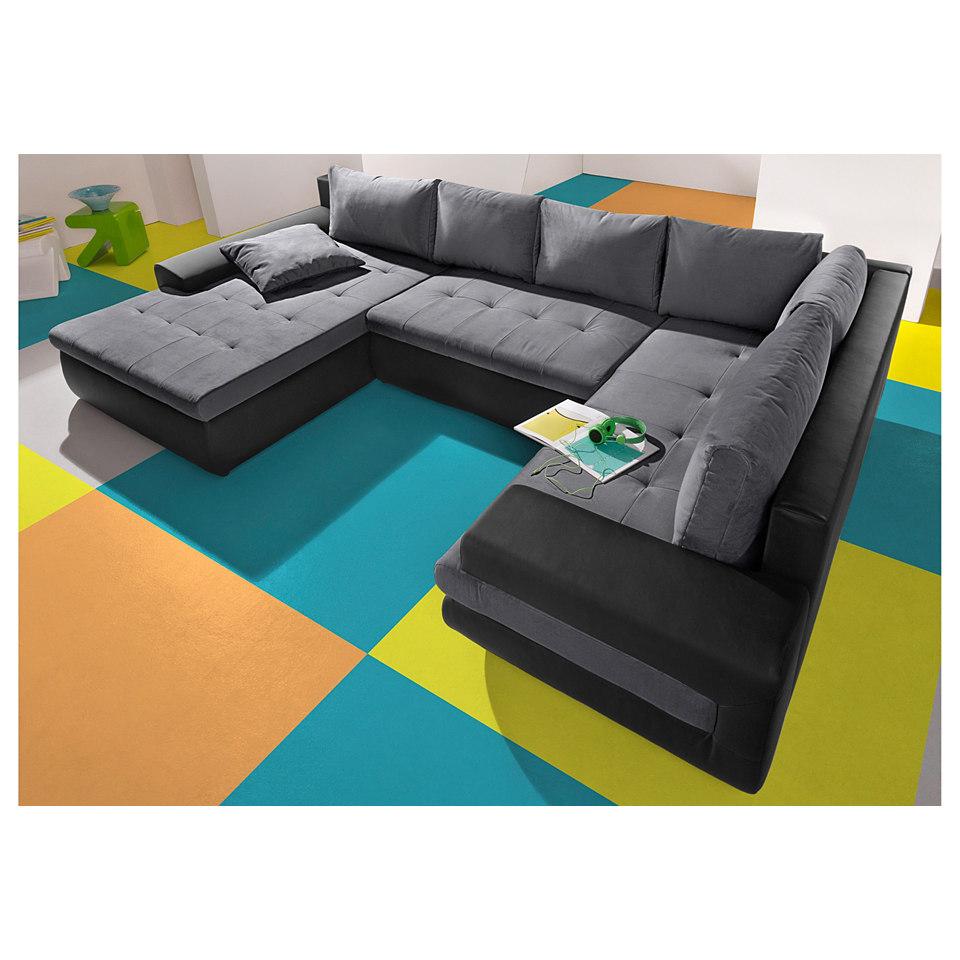 Wohnlandschaft, Sit & More, wahlweise XL oder XXL, mit oder ohne Bettfunktion