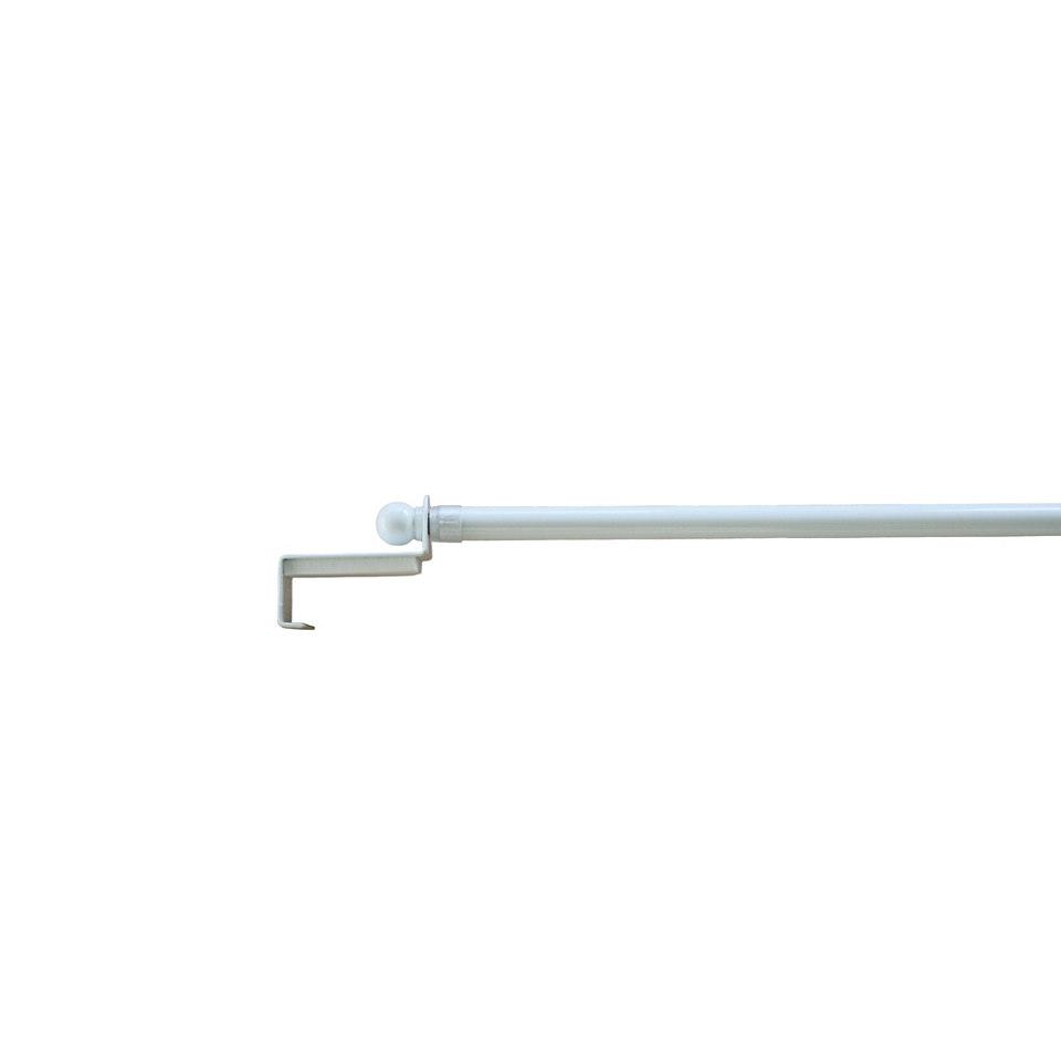 ausziehbare Scheibenstange Spannfix � 9 mm, Garesa, �Spannfix Kugel�